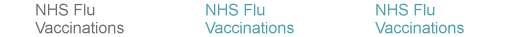 NHS Flu Vaccinations